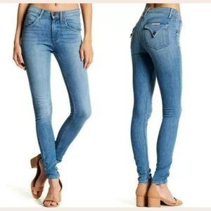 Hudson Lynne High Waist Flap Super Skinny Jeans
